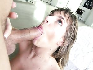 Wet Teen Drilled By A Dude With A Big Cock