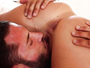 Horny Keisha Grey Blows And Bones Her Man In Bed