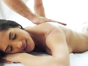 Chloe Amour Rides The Hard Cock Of Her Masseur